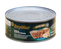 Тунец консервированный в подсолнечном масле BayMar, 900 г