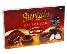 Набор печенья в шоколаде El SANTO Surtido, 350 г