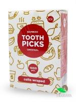 Зубочистка в целофане без ментола, 100шт