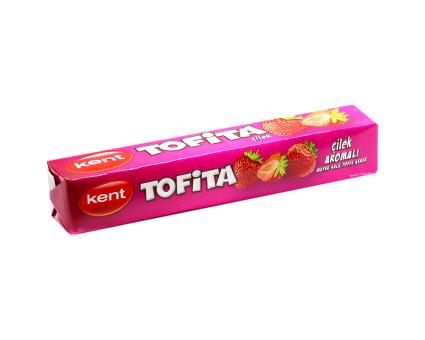 Жевательные конфеты TOFITA Клубника, 47 г