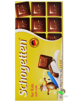 Шоколад Schogetten for KIDS, 100 г