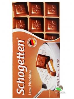 Шоколад Schogetten Latte Macciato, 100 г
