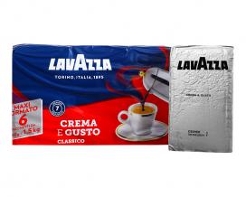 Кофе молотый Lavazza Crema e GustoClassico, 250 г (30/70) (эконом-упаковка)