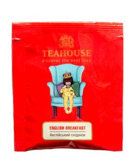 Чай Teahouse Английский завтрак, 2г*50 (черный чай в пакетиках), 100 г