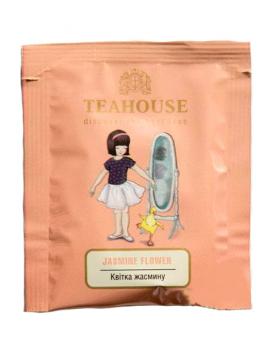 Чай Teahouse Цветок жасмина (зелёный чай в пакетиках), 2 г