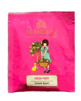 Чай Teahouse Свежий фрукт 2г*50 (фруктовый чай в пакетиках), 100 г