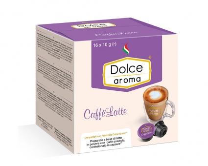 Латте в капсулах Dolce Aroma Caffe Latte Dolce Gusto, 16 шт