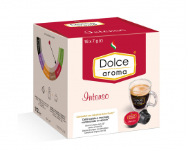 Кофе в капсулах Dolce Aroma Intenso Dolce Gusto, 16 шт
