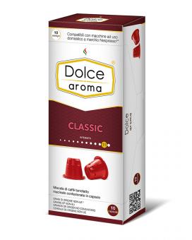 Кофе в капсулах Dolce Aroma Classic Nespresso, 10 шт