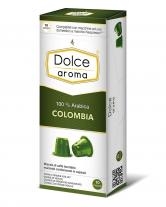 Кофе в капсулах Dolce Aroma Colombia Nespresso, 10 шт