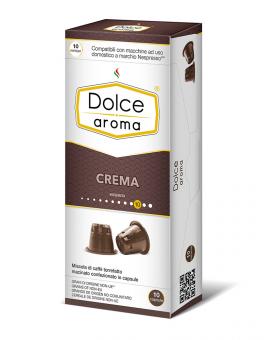 Кофе в капсулах Dolce Aroma Crema Nespresso, 10 шт