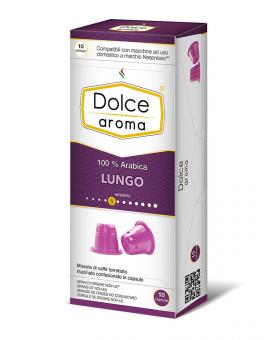 Кофе в капсулах Dolce Aroma Lungo Nespresso, 10 шт