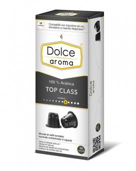 Кофе в капсулах Dolce Aroma Top Class Nespresso, 10 шт