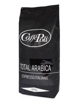 Кофе в зернах Caffe Poli Total Arabica, 1 кг (100% арабика)