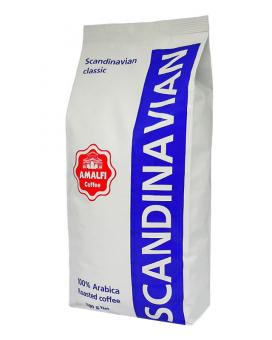 Кофе в зернах Amalfi Scandinavian Classic, 1 кг (100% арабика)