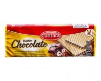 Вафли с шоколадом и фундуком Cuetara Wafer Chocolate, 150 г