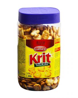 Крекер соленый микс Cuetara Krit Pub-mix, 350 г