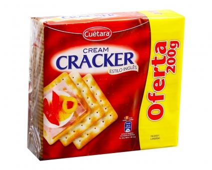 Крекер сливочный Cuetara Cream Cracker, 600 г