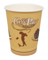 "Стакан бумажный Caffe Poli ""Сердце"" вендинг 175 мл, 50 шт"