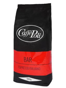 Кофе в зернах Caffe Poli Bar, 1 кг (50/50)