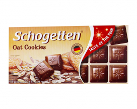Шоколад Schogetten Oat Cookies, 100 г