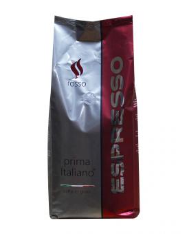 Кофе в зернах Ricco Prima Italiano ROSSO Espresso, 1 кг (50/50)