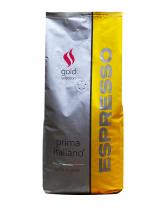 Кофе в зернах Ricco Prima Italiano GOLD Selection Espresso, 1 кг (100% арабика)