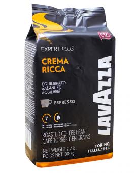 Кофе в зернах Lavazza Crema Ricca Expert Plus, 1 кг (70/30)