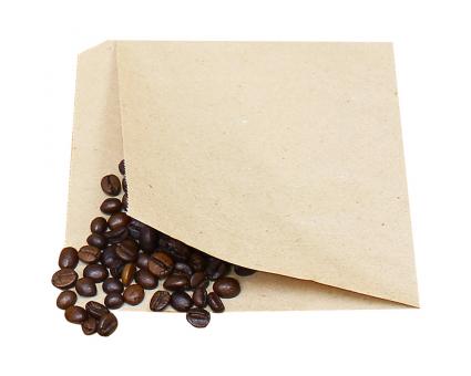 Крафт пакет бумажный уголок 170х170 мм, 100 шт