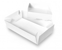 Коробка для суши бумажная белая 250х200х50 мм, 1 шт