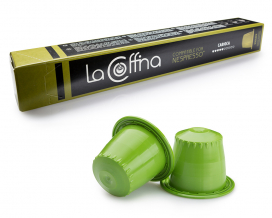Кофе в капсулах La Cоffina CARIOCA Nespresso, 10 шт (100% арабика)