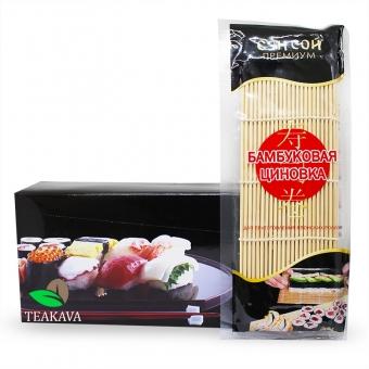 Бамбуковый коврик (циновка) Сэн Сой Премиум
