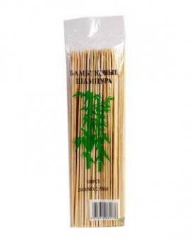 Шампур бамбук d=2,5; 20 см, 100 шт