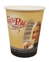 """Стакан бумажный Caffe Poli """"Мальчик/девочка"""" вендинг 175 мл, 50 шт"""