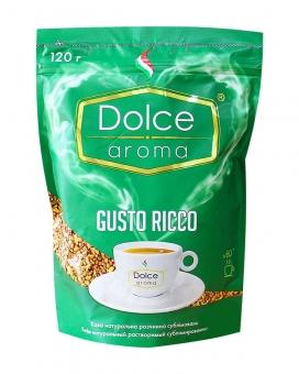 Кофе растворимый Dolce Aroma Gusto Ricco, 120 г