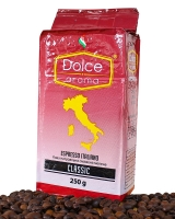 Кава caffe MACINATO DOLCE AROMA CLASSIC 250 г (10/90)