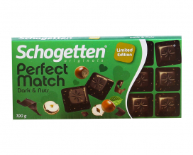 Шоколад Schogetten Dark & Nuts, 100 г