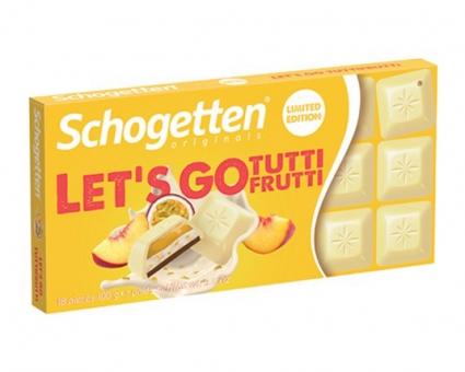 Шоколад Schogetten Tutti Frutti