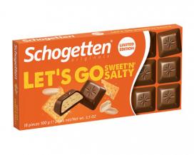 Шоколад Schogetten Sweet`n`Salty