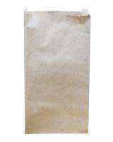 Крафт пакет бумажный 210х400х40 мм, 100 шт