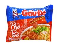 Лапша быстрого приготовления со вкусом говядины PhoBo GauDo, 65 г