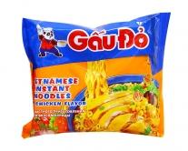Лапша быстрого приготовления со вкусом курицы GauDo, 63 г