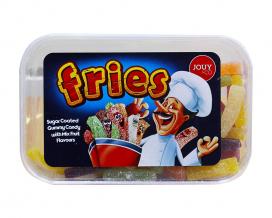 Мармеладные конфеты Сладкая картошка фри со вкусом фруктового микса YOUY & CO Fries, 225 г