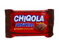 Вафли в шоколаде YOUY & CO Breakiez Chiqola, 36 г