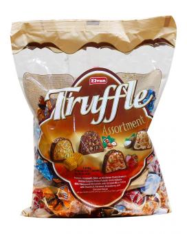 Конфеты шоколадные с начинкой Микс Elvan Truffle Mix, 1 кг
