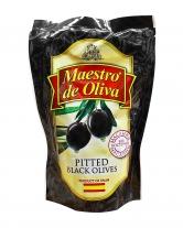 Маслины без косточки Maestro de Oliva, 170 г (ПЭТ)