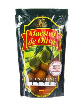 Оливки без косточки Maestro de Oliva, 170 г (ПЭТ)
