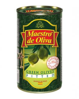 Оливки без косточки Maestro de Oliva, 280 г (ж/б)