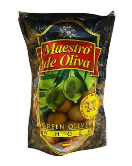 Оливки с косточкой Maestro de Oliva, 180 г (ПЭТ)