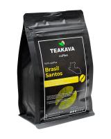 Кофе в зернах Teakava Brasil Santos, 250 г (моносорт арабики)